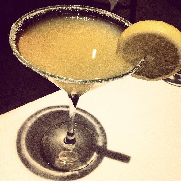 Lemon Drop Martini - Texas de Brazil - Detroit, Detroit, MI