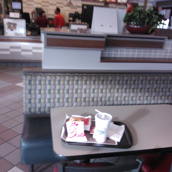 Waffle Fries @ Chick-fil-A