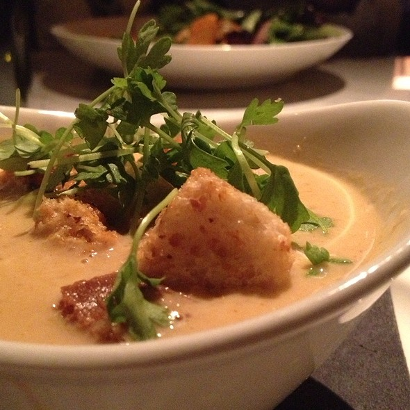 Lobster Bisque @ Central Bistro And Bar