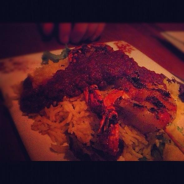 Shrimp Skewers - Medina Oven & Bar, Dallas, TX