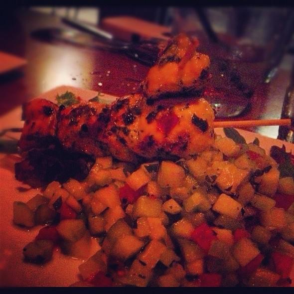 Citrus Marinated Chicken Skewers - Medina Oven & Bar, Dallas, TX