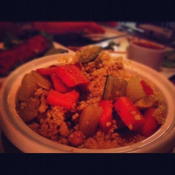 Seven Vegetable Cous Cous - Medina Oven & Bar, Dallas, TX