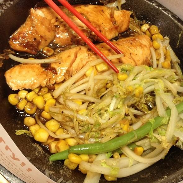 Teriyaki Double Salmon Steak @ Pepper Lunch