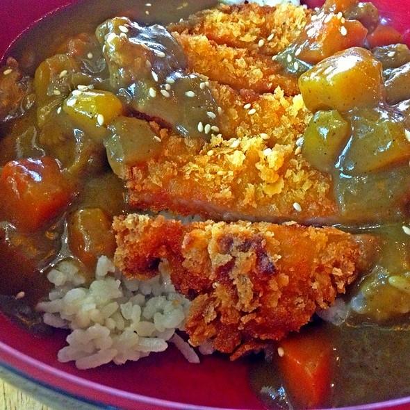 ข้าวแกงกะหรี่หมูทอด Curry Rice With Pork Cutlet  @ Food Hall @ Pure Place