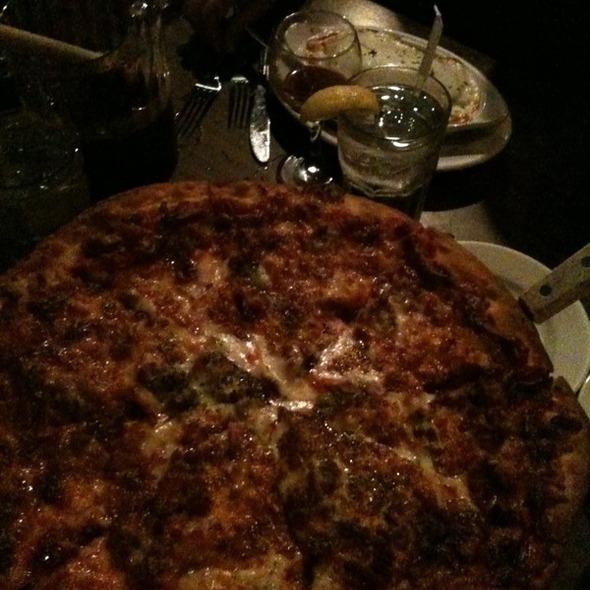 Pizza @ Gigi's Italian Restaurant