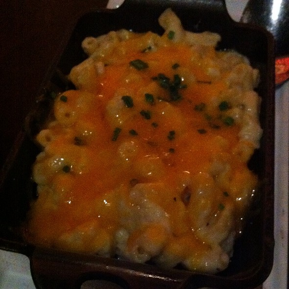 Mac and Cheese @ 5A5 Steak Lounge