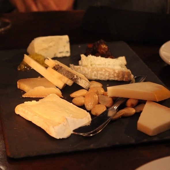 Cheese Platter @ The Hidden Vine