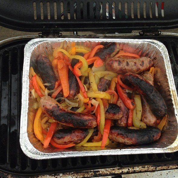 Sausage And Peppers @ Soldier Field
