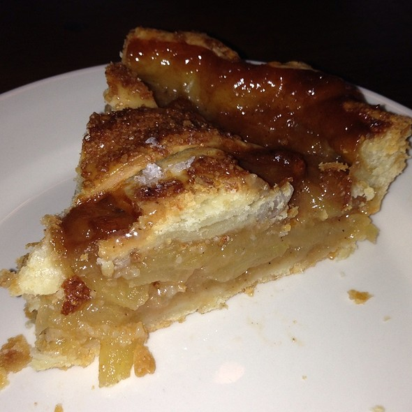 Salted Caramel Apple Pie @ Four & Twenty Blackbirds