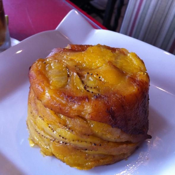Mofongo de Amarillo Relleno De Mamposteao @ Marcelo Restaurant