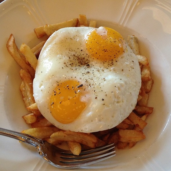 Fries And Fried Egg @ The Publican