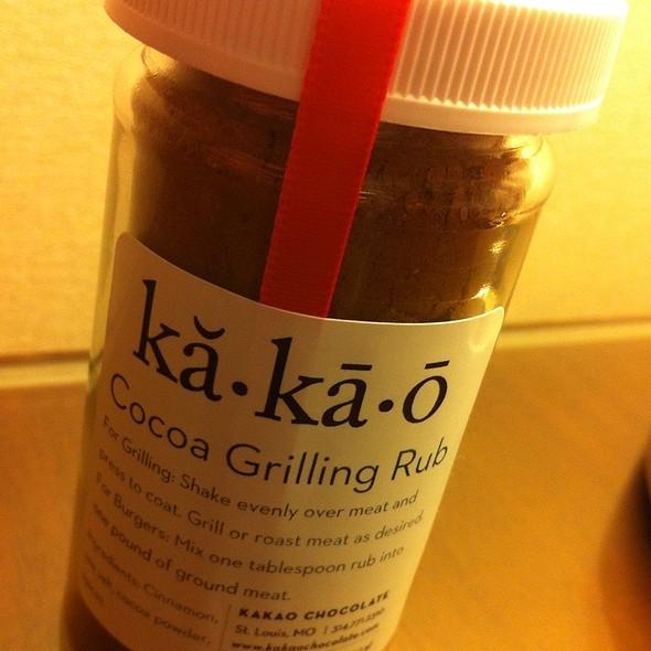 Cocoa Grilling Rub