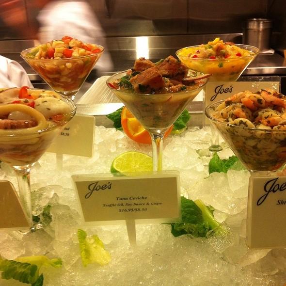 Tuna Ceviche @ joe's take away