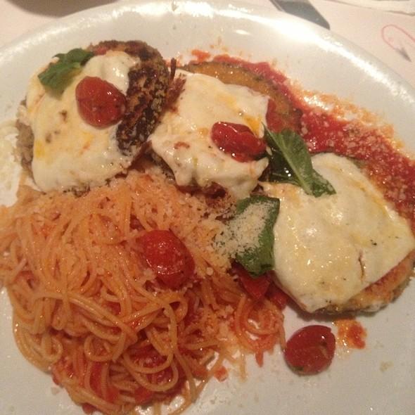 Eggplant Parmigiana @ Romano's Macaroni Grill