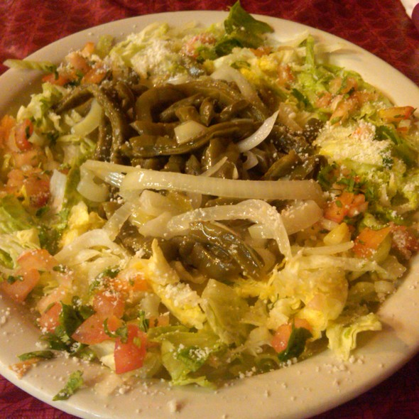 Cactus Salad @ Texas Mexican Restaurant