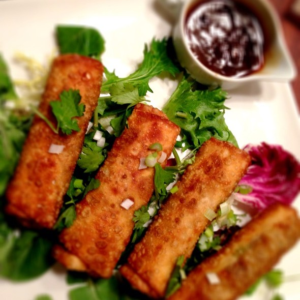 Duck Spring Rolls With Hoisin Chili Dipping Sauce @ Giddy Gastronaut Kitchen