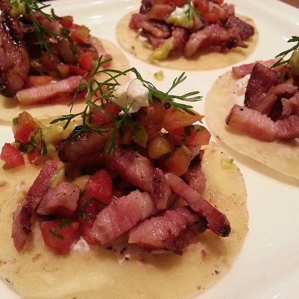 Pork Belly Tortillas @ Sundance Cafe