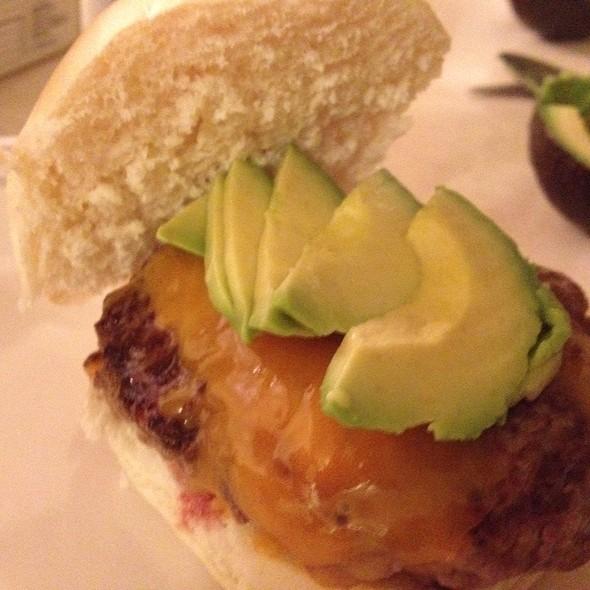 Cheeseburger @ Home