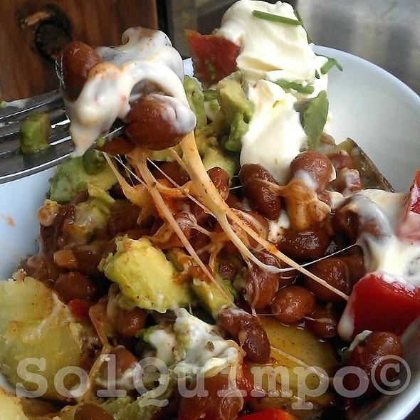 Mexicano Hot Baked Potato (Cheeeesssee) @ Kapai New Zealand