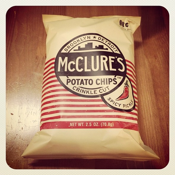 Mcclure's Spicy Pickles Potato Chips
