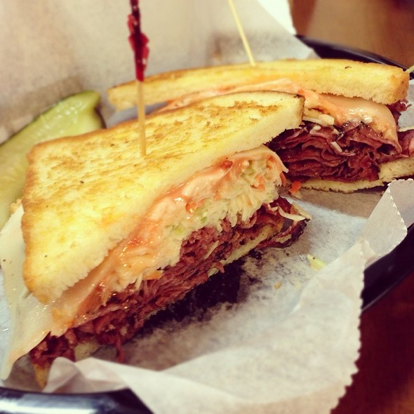 The Detroiter - Pastrami Sandwich