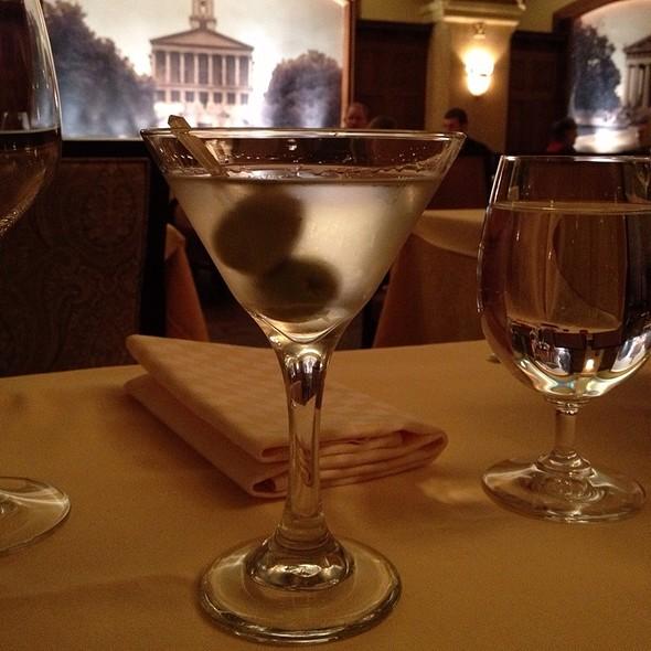 Dry Martini - Capitol Grille - Hermitage Hotel - Nashville, Nashville, TN