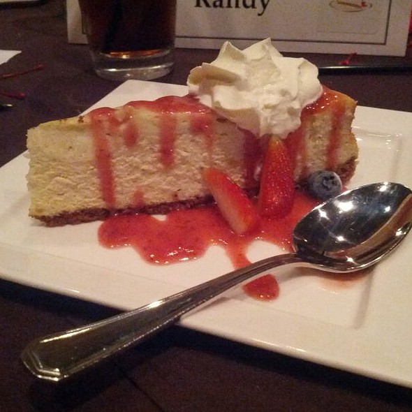 Cheesecake - Strata Restaurant and Bar, Houston, TX