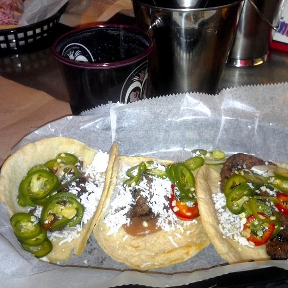 JG Steak Supremo Tacos @ Distrito Cantina