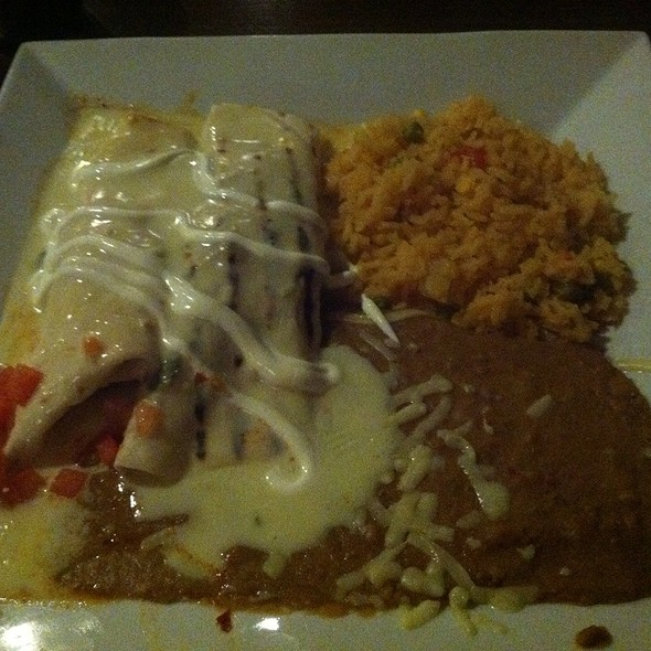 Beef Chimichanga Dinner @ Plaza Azteca