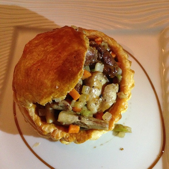 Vol Au Vent Of Sweet Breads. @ Philippe Excoffier