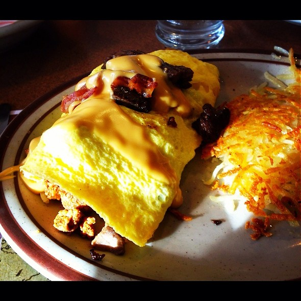 Meat Lovers Omelet @ Denny's