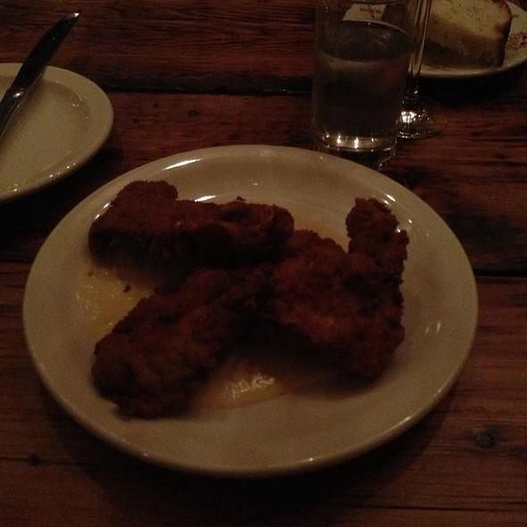 fried oysters @ Kilo