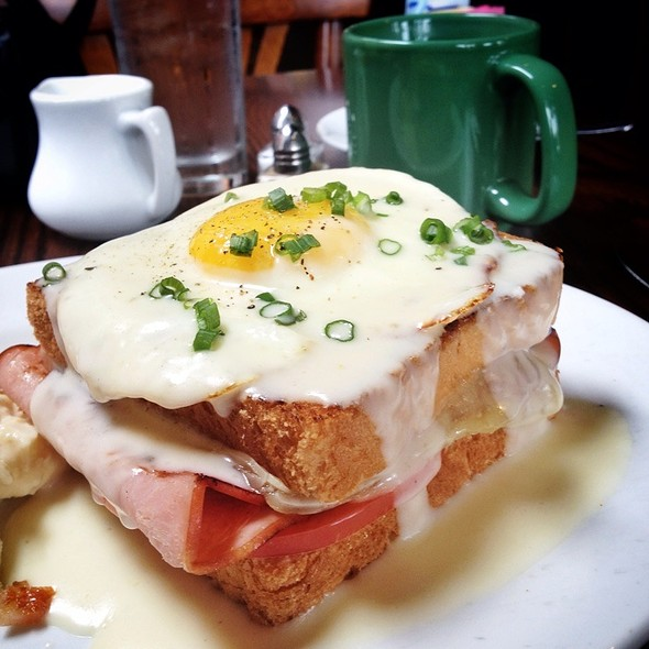 Croque Madame @ The French Press