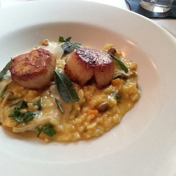 Seared Dayboat Scallops - Artisan, Lafayette, CA