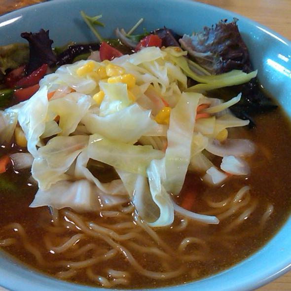 Miso Vegetable Ramen @ Yakitori Yakyudori Hillcrest