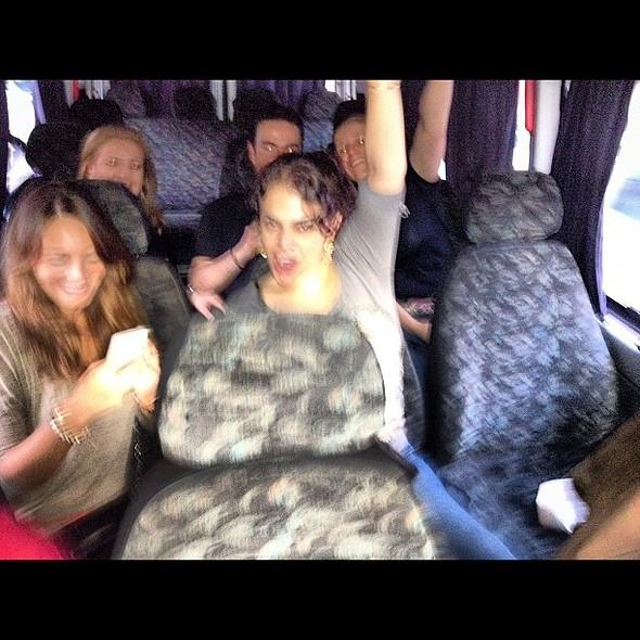@luribeiro01 @ in the van