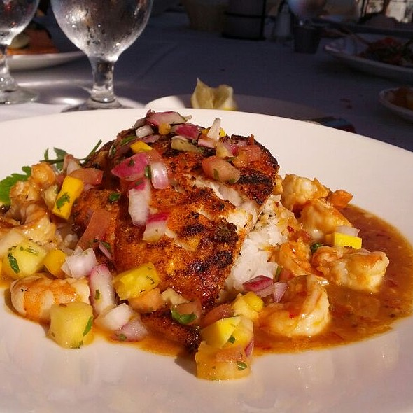 Bourbon Street Mahi Mahi - Rusty Pelican Restaurant, Newport Beach, CA