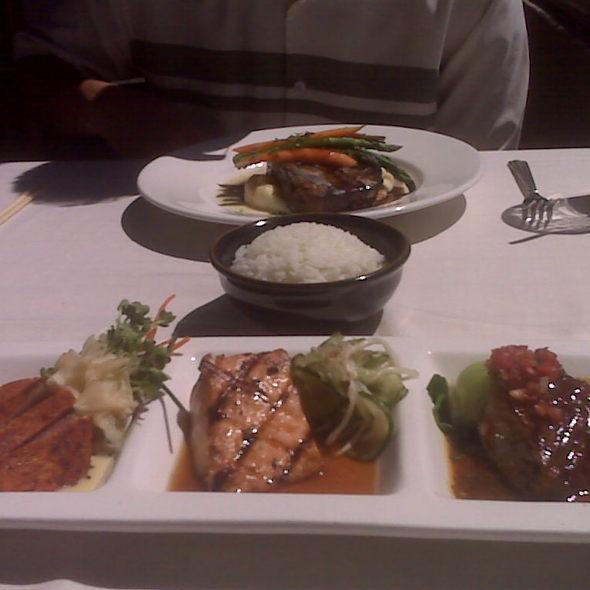 Seafood Trio @ Roy's Restaurant