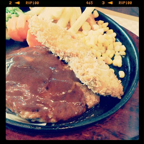 Hamburg Steak and Fried Fish @ Ebisuke (central World Plazza, 7th Floor)