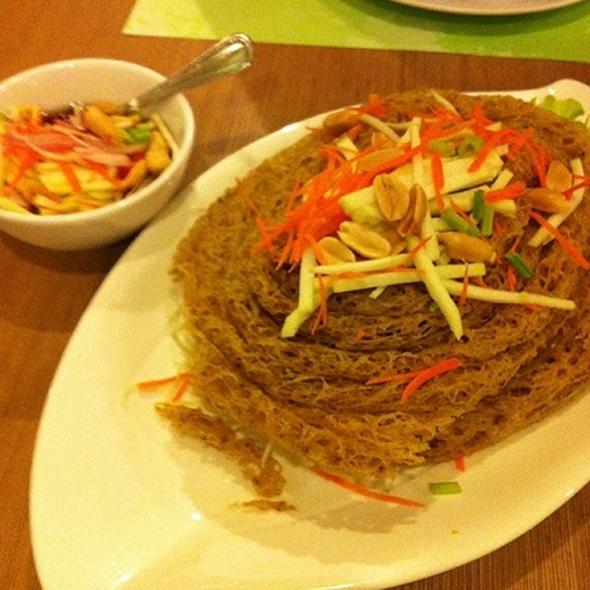 crispy catfish salad @ Secret Garden