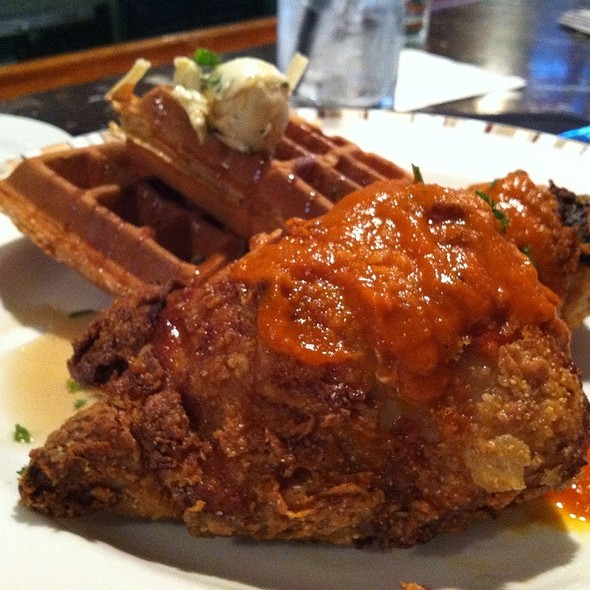 Chicken & Waffles - LaSalle Grill, South Bend, IN