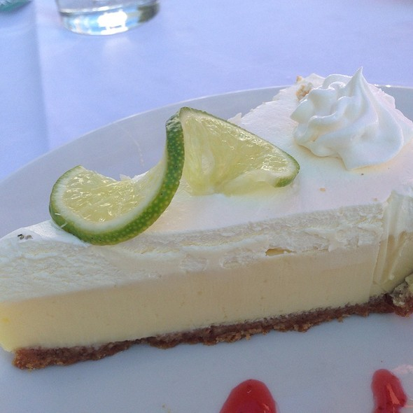 Key Lime Pie - Chart House Restaurant - Longboat Key, Longboat Key, FL