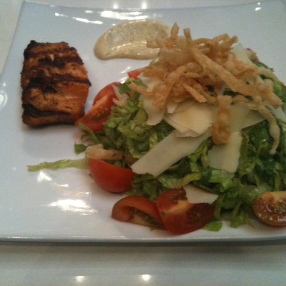 Grilled Salmon Salad @ Royal/T