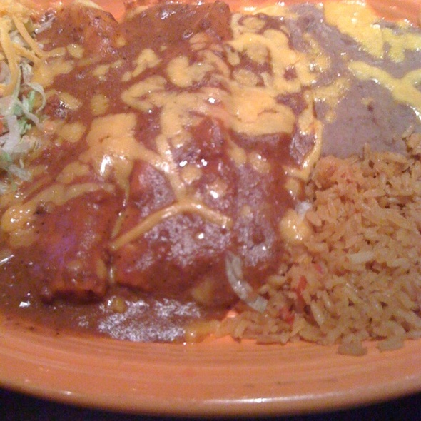 Cheese Enchilada Plate