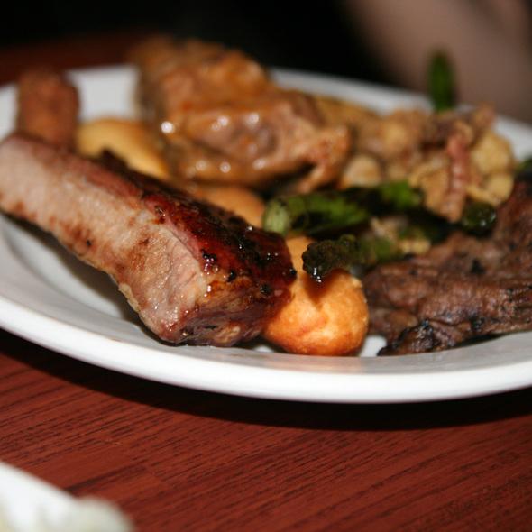 BBQ ribs @ Cannoli Joe's