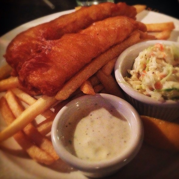 Fish and Chips - James Joyce Irish Pub and Restaurant, Baltimore, MD