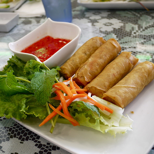 Deep Fried Spring Roll @ Pho 21
