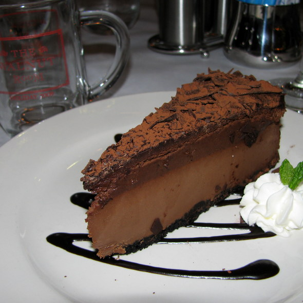 Chocolate Cheesecake @ The Walnut Room