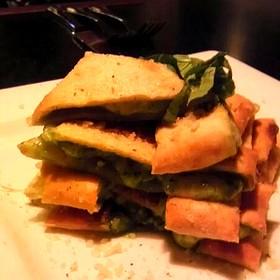 Wood fired Pesto Bread