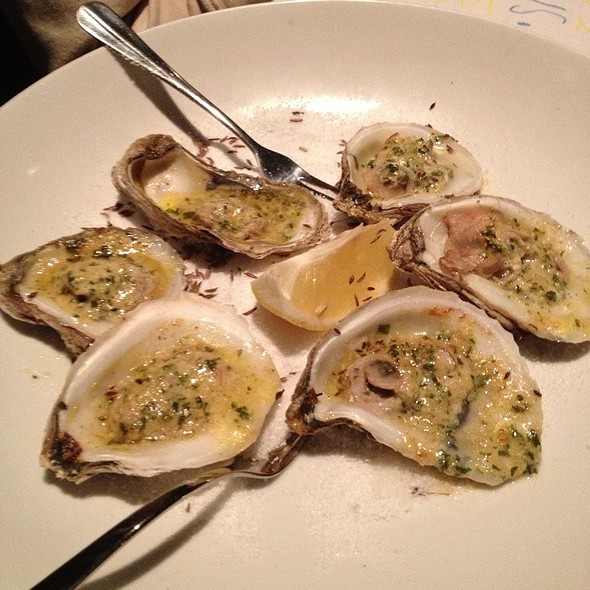 Roasted Oysters - Jake's Restaurant, Brookfield, WI